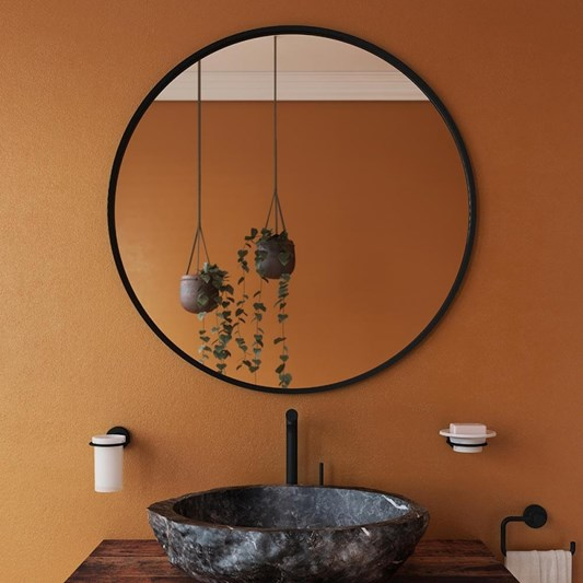 Bathroom Origins Docklands Round Mirror - 800 x 800mm